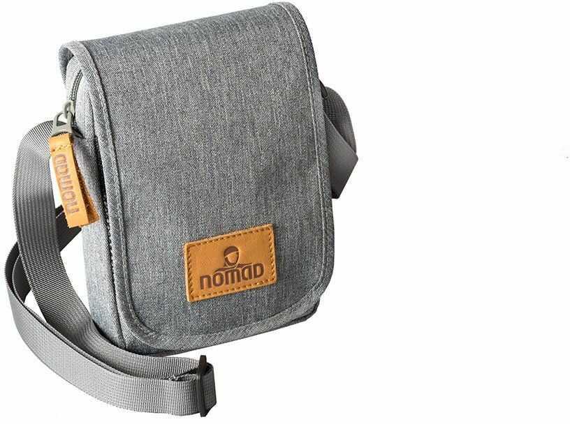 Nomad Daily Documents Bag aktówka, 18 cm, szary (szary) - BUDAILN1B-B00-108