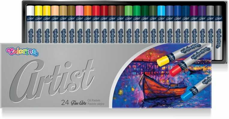 Pastele olejne ARTIST 24 kolory Colorino 865719