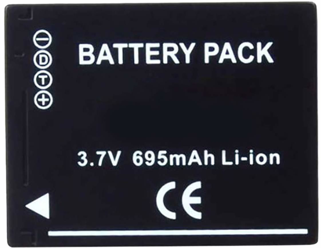 Amsahr Digital Replacement Camera and Camcorder Battery for Panasonic DMW-BCH7, DMW-BCH7E