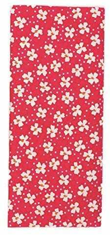 GLOREX wykrój materiału, poliester, czerwony, 26 x 13 x 1,5 cm