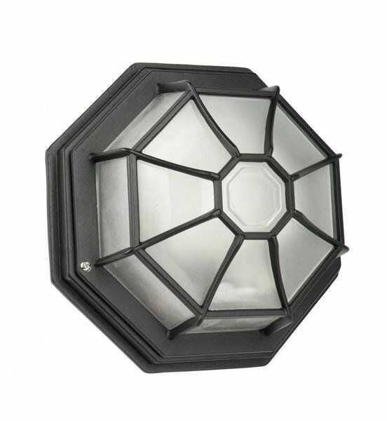 Lampa ścienna sufitowa zewnętrzna Retro Classic K 3012/P SZ czarny
