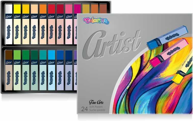 Pastele suche ARTIST 24 kolory Colorino 865245