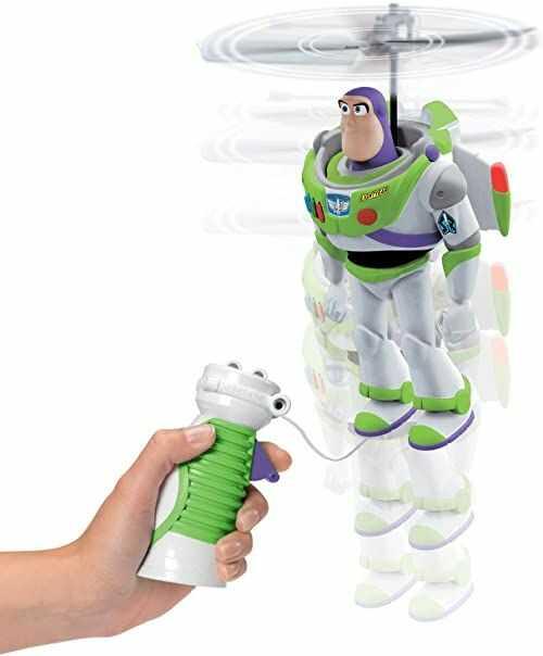 Disney Toy Story Pixar 4-kablowy latający Buzz Lightyear, wielokolorowe