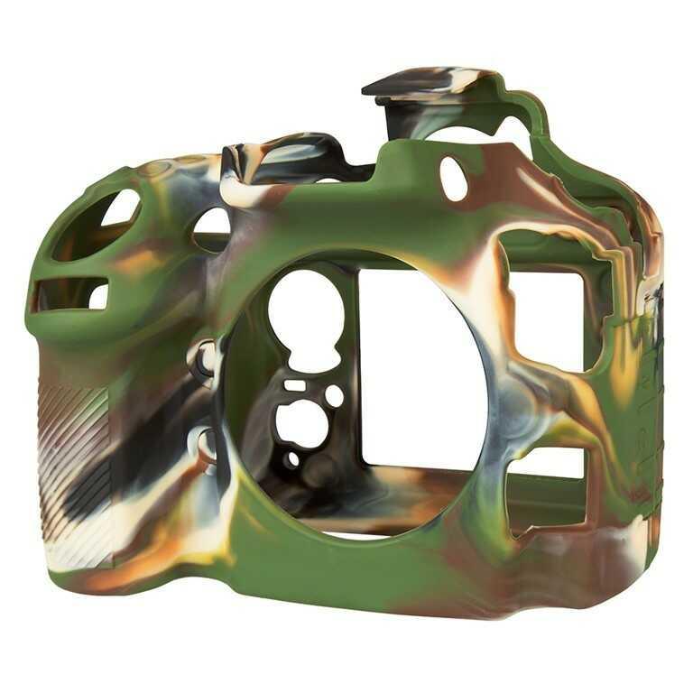 Osłona silikonowa easyCover do aparatu Nikon D800/ D800E kamuflaż
