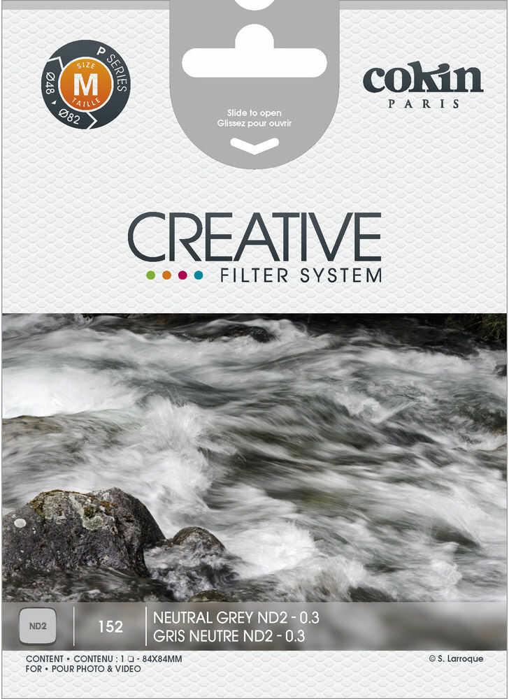 Cokin P152 rozmiar M filtr szary ND2