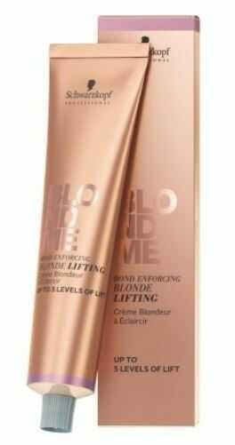 Schwarzkopf Professional Blondme rozjaśniacz w krem do włosów blond odcień L - Steel Blue 60 ml