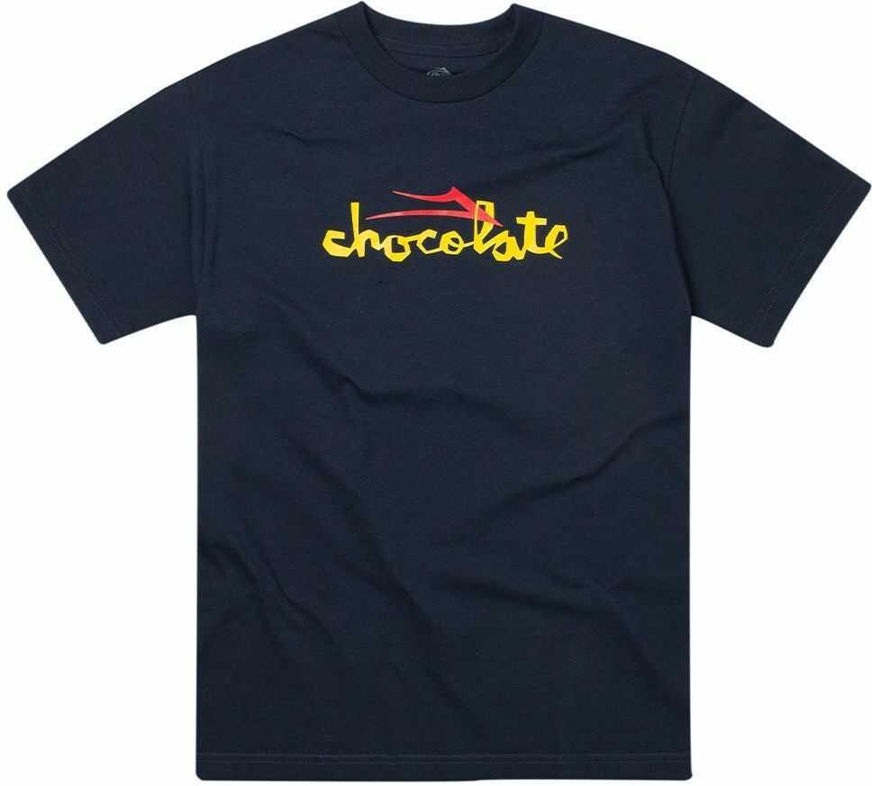 t-shirt męski LAKAI CHOCOLATE FLARE TEE Navy