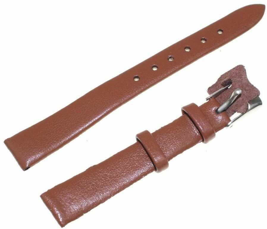 Skórzany pasek do zegarka 12 mm Diloy 701.12.3