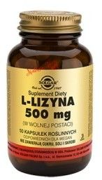 L-Lizyna 500 mg/50 kaps. (Solgar)