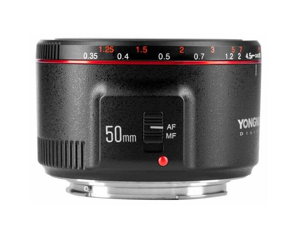 Yongnuo 50mm f/1.8 II - obiektyw stałoogniskowy do Canon EF Yongnuo 50 mm f/1,8 II