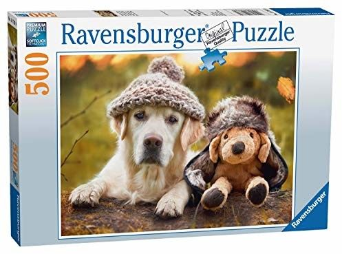 Puzzle Ravensburger 500 - Ja i mój przyjaciel, Me and My Pal