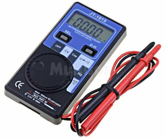 Multimetr cyfrowy LCD 3,75 cyfry (3999) VDC:400m 400V