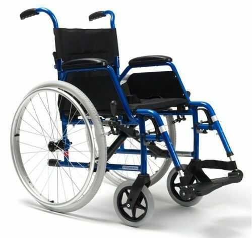 Vermeiren lekki aluminiowy wózek inwalidzki BOBBY 24