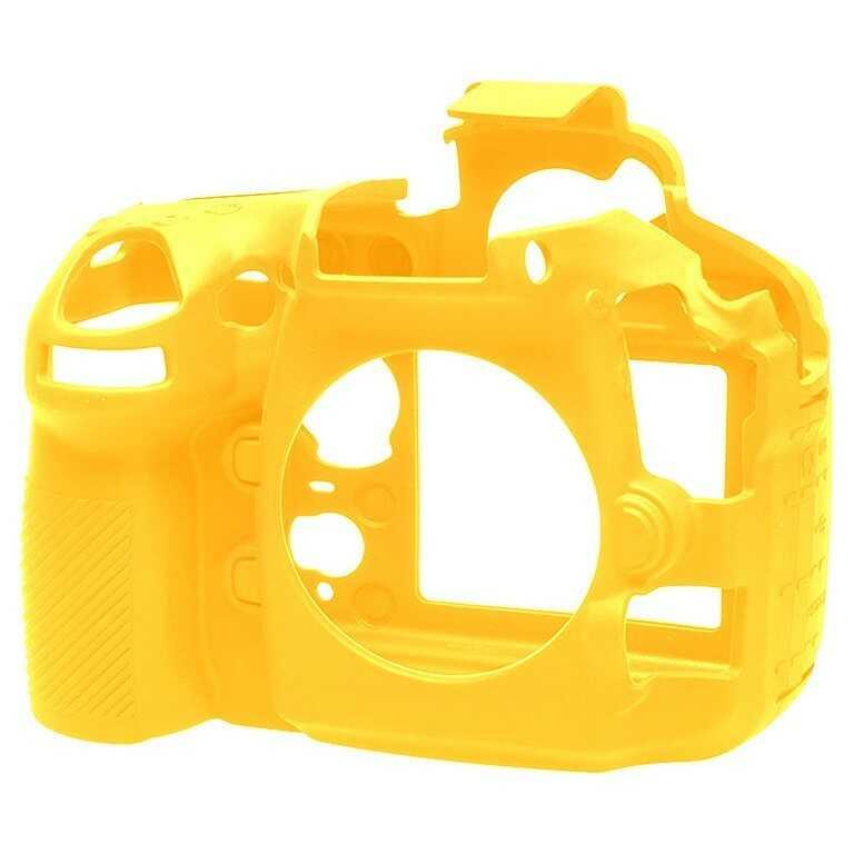 Osłona silikonowa easyCover do aparatu Nikon D810 żółta