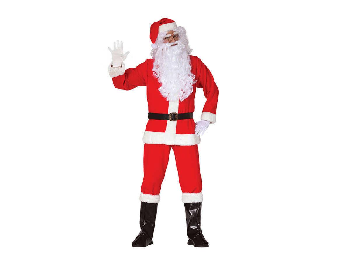 Kostium Świętego Mikołaja - roz. M - M (48-50)