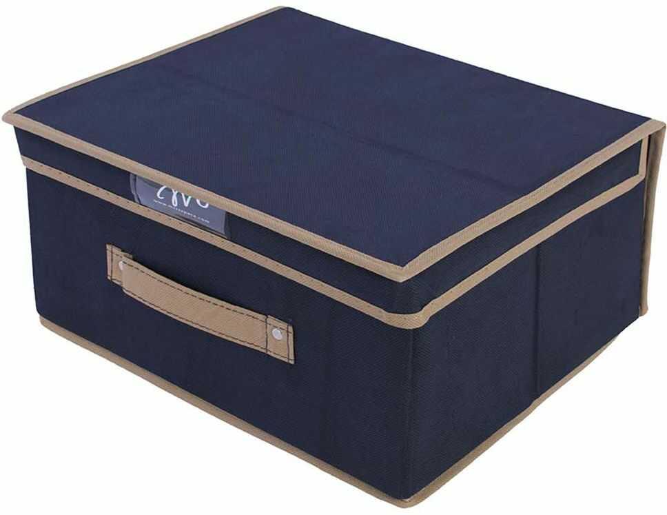 Organizer do szafy klasyczny niebieski 33 x 28 x 16 - niebieski