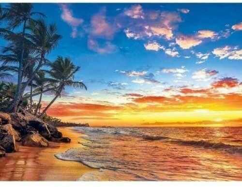 Puzzle Clementoni 500 - HQ - Rajska plaża, Paradise Beach
