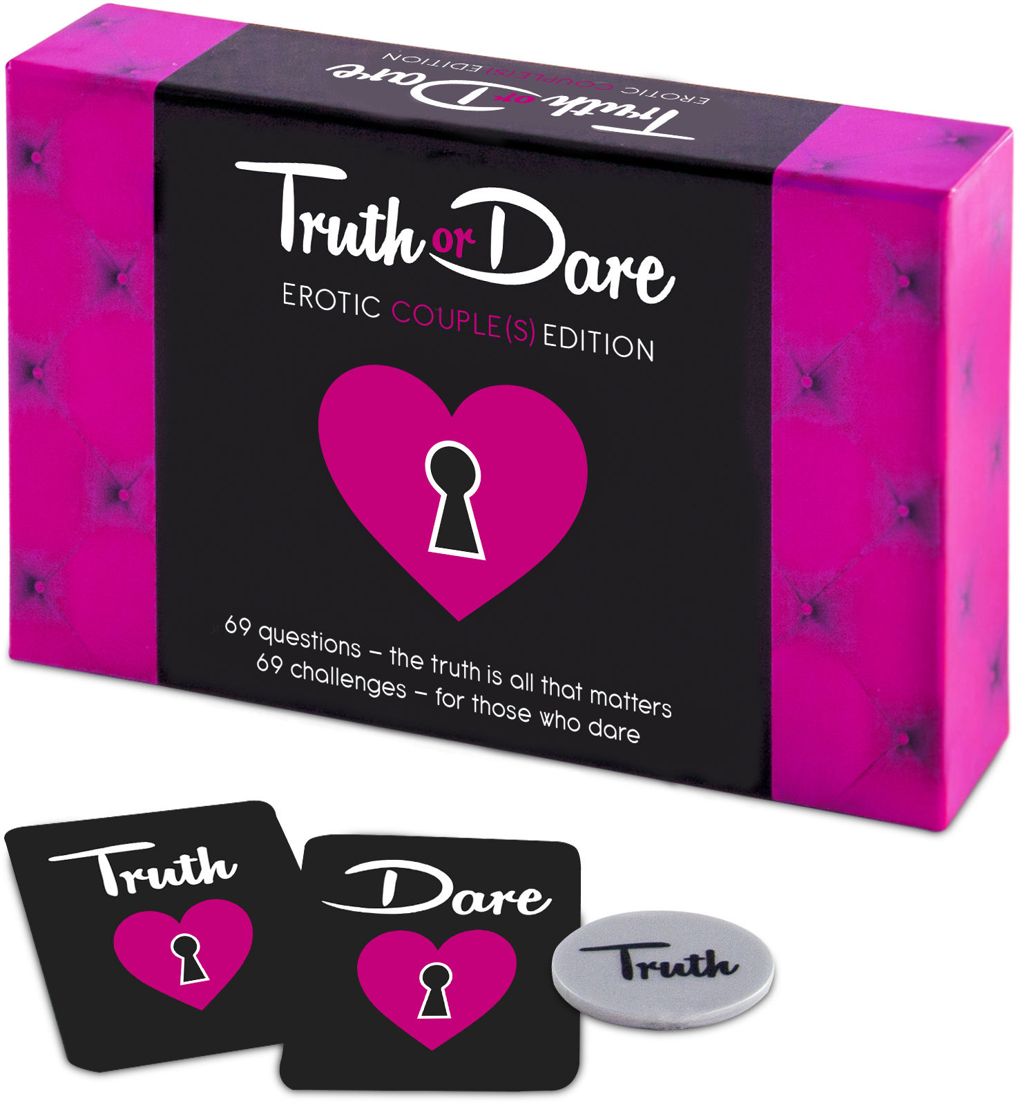 Tease & Please Truth or Dare Erotic Couple(s) Edition EN - The English Version Of Erotic Game