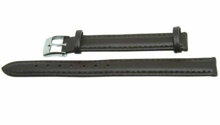 Pasek DILOY 12mm ciemnobrązowy, 302EL.12.2