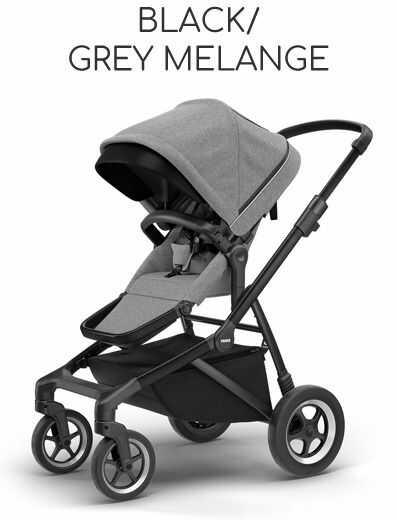 Thule Sleek Black Frame - Black/ Grey Melange