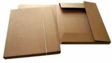 Leniar Teczka ekologiczna A3 karton prązkowy
