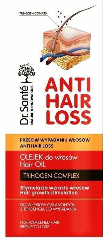 Elfa Pharm Dr.Sante Anti Hair Loss Olejek stymulujący wzrost włosów 100ml
