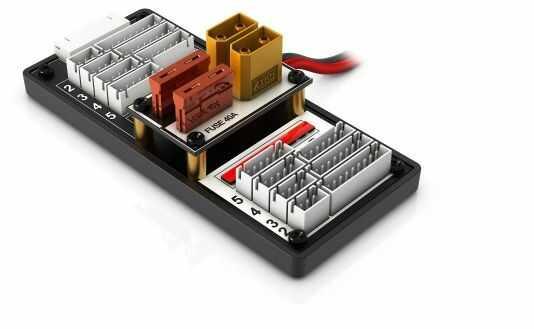 SkyRC Bezpieczny adapter do ładowania równoległego 2-8S XT60 HX
