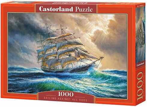 Puzzle Castor 1000 - Żeglarstwo mimo wszystko, Sailing Against All Odds