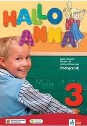 Hallo Anna 3. Język niemiecki dla klas 1-3 szkoły podstawowej. Podręcznik ZAKŁADKA DO KSIĄŻEK GRATIS DO KAŻDEGO ZAMÓWIENIA