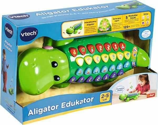 Literkowy Krokodyl (60620 VTECH)