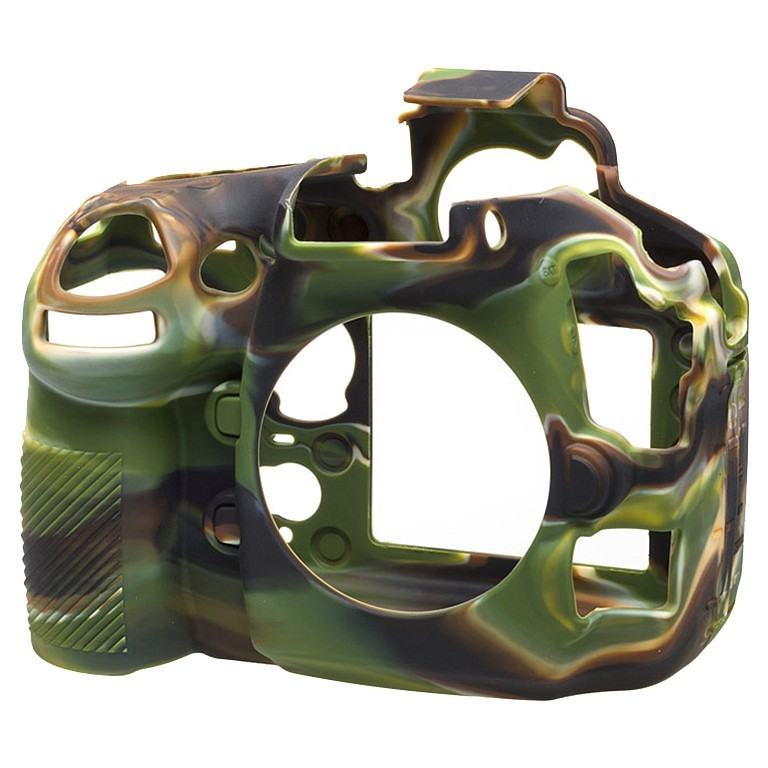 Osłona silikonowa easyCover do aparatu Nikon D810 kamuflaż - WYSYŁKA W 24H
