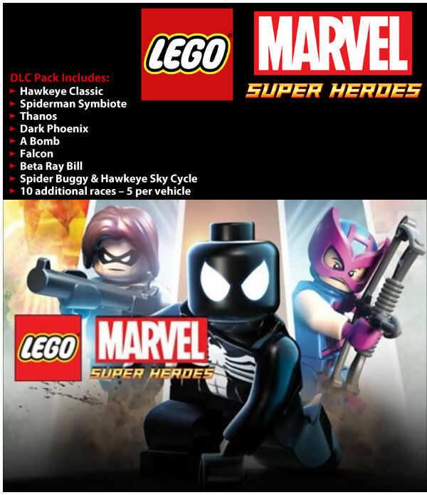 LEGO Marvel Super Heroes: Super Pack DLC (PC) PL klucz Steam