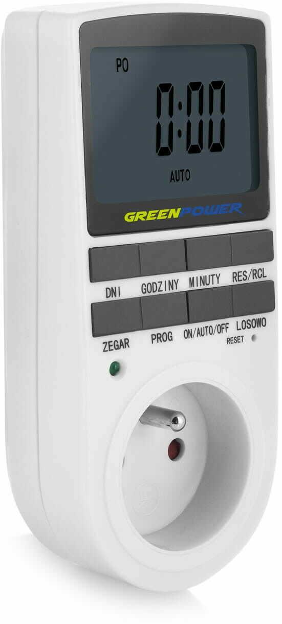 Green Power Elektroniczny programator czasowy - GP PC-02