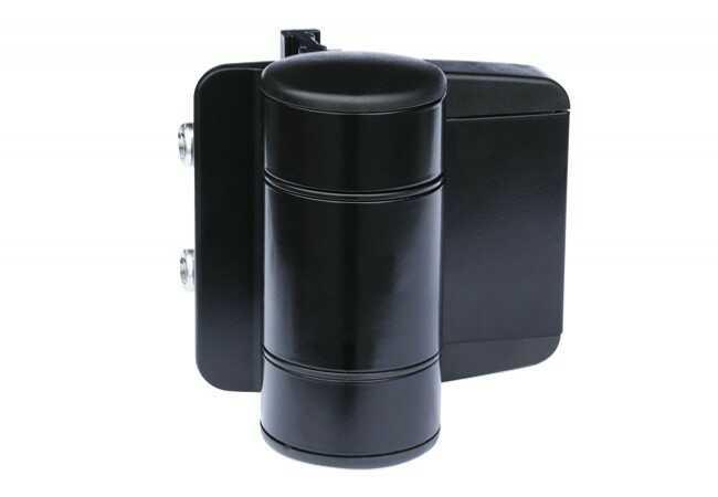 Zawias podwójnie łożyskowany z regulacją 2 X 20 mm RAL 9005 (2 szt)