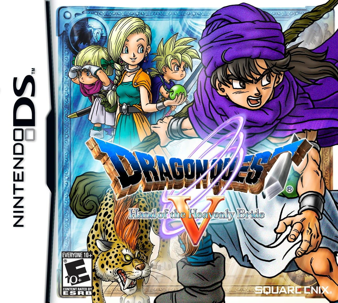 Gry Dragon Quest V: The Hand of the Heavenly Bride (Nintendo DS)