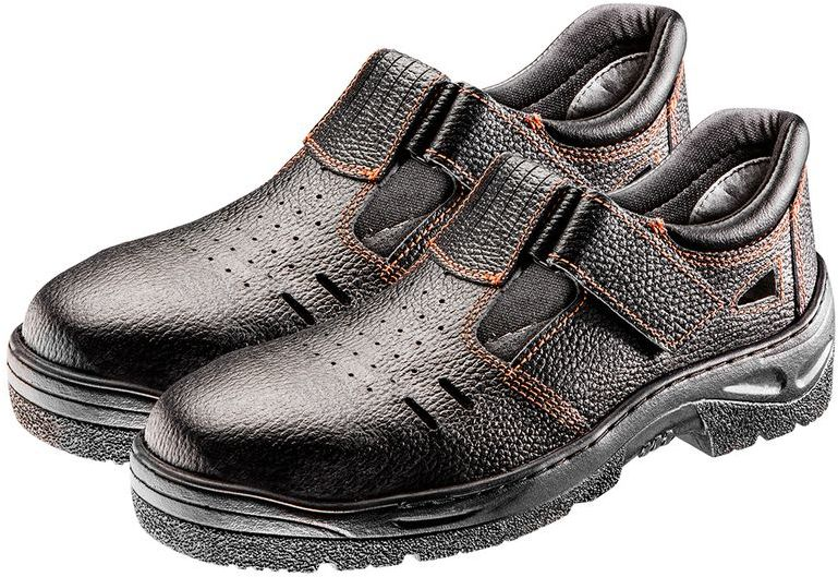 Sandały robocze S1 SRC, skórzane, rozmiar 36 82-570