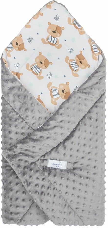 Rożek niemowlęcy minky miś teddy