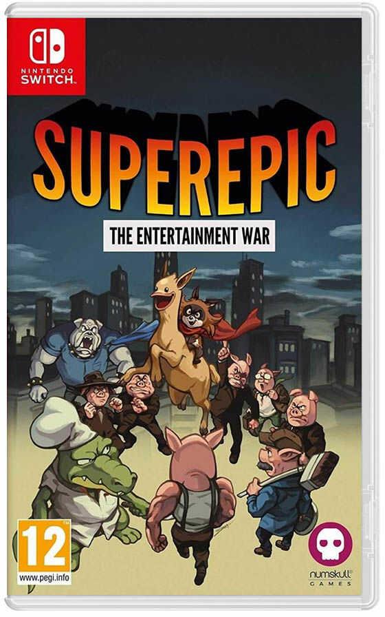 SuperEpic The Entertainment War / Nintendo Switch / Warszawa / 533 111 700