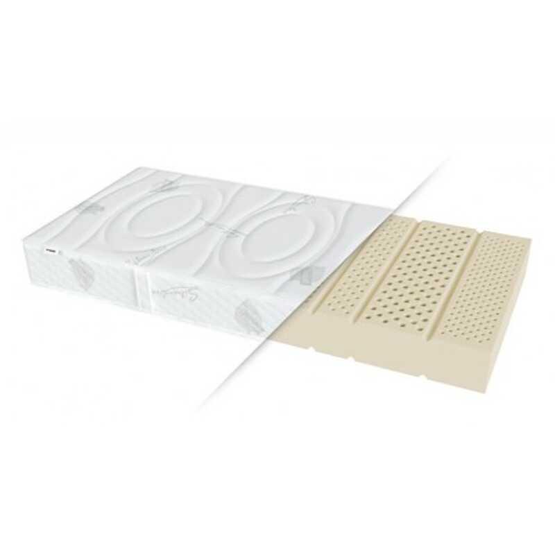 Materac HETMAN AQUA SEMBELLA lateksowy : Rozmiar - 180x200, Twardość - H2