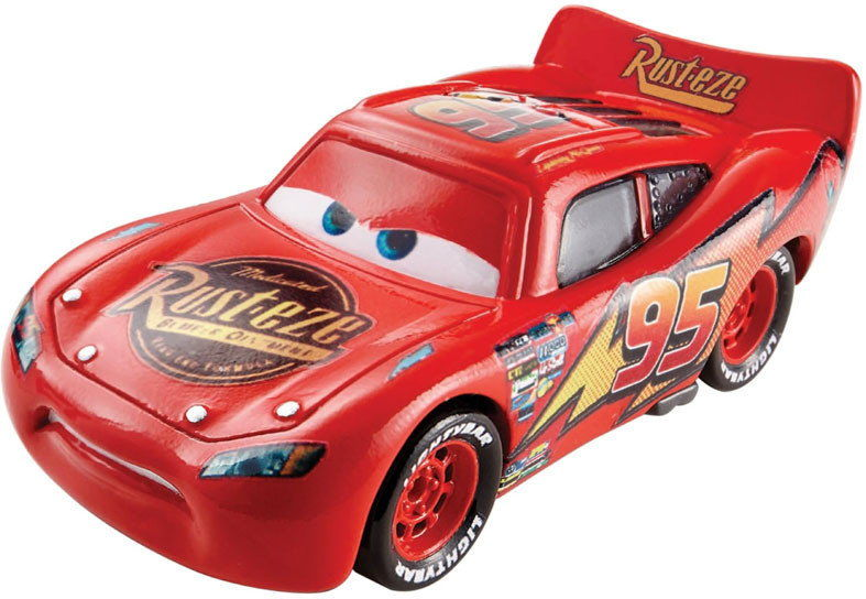 Mattel - Auta Cars - Zawzięty Zygzak McQueen CMN31 W1938