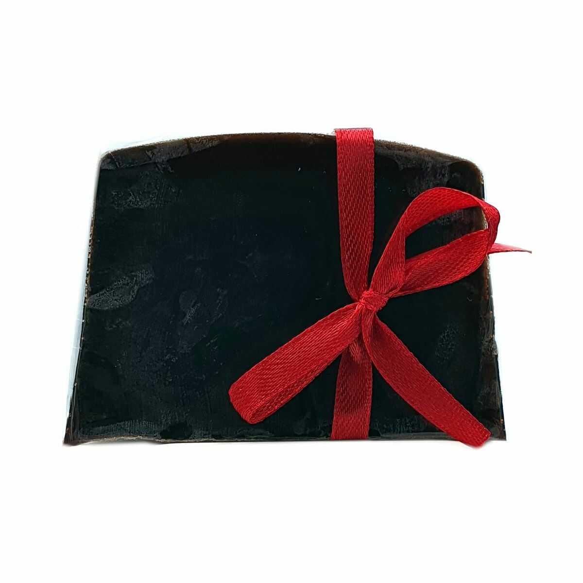 Mydło Glicerynowe Czarne Organiczne - 100g - Lavea