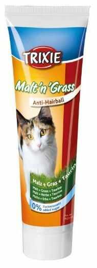 Trixie Malt''n''Grass - pasta słodowa z trawą dla kota 100g
