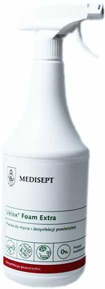 Velox Foam Extra 1l - pianka do mycia i dezynfekcji powierzchni