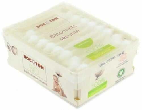 Bocoton Patyczki kosmetyczne dla dzieci i niemowląt - 60 sztuk