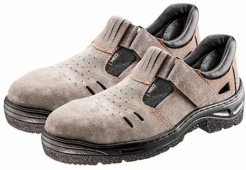Sandały robocze S1 SRC, zamszowe, rozmiar 38 82-582
