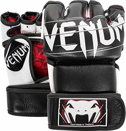 Venum Rękawice MMA dla dorosłych Undisputed 2.0, czarne, M