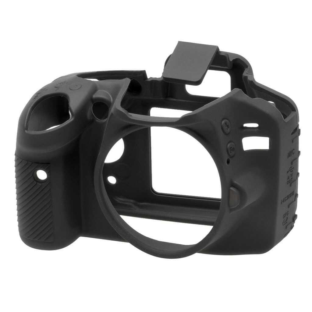 Osłona silikonowa easyCover do aparatu Nikon D3200 czarna