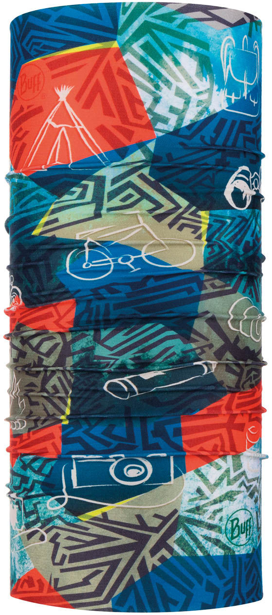 Chusta Wielofunkcyjna CoolNet UV+ Stony by BUFF, kolorowy, One Size