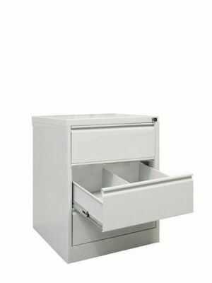Szafa na kartoteki medyczne SZK 318/3 RODO 3 szuflady B5 na klucz