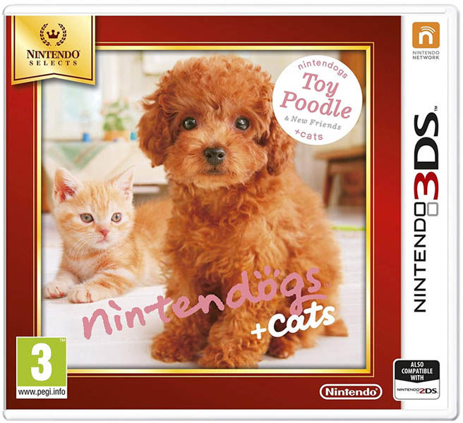 Nintendogs + Cats: Toy Poodle & New Friends / 3DS / 2DS / Warszawa / 533 111 700
